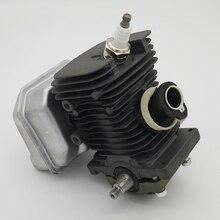 38mm Engine Motor Cylinder Piston Crankshaft Muffler Kit Fit For Stihl MS180 MS 018 180 Gas Chainsaw Garden Tools Spare Parts