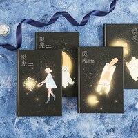 A5, милый мультяшный ежедневник, креативный дневник, пулевидный дневник, студенческий блокнот, светящийся блокнот, канцелярские товары, школ...