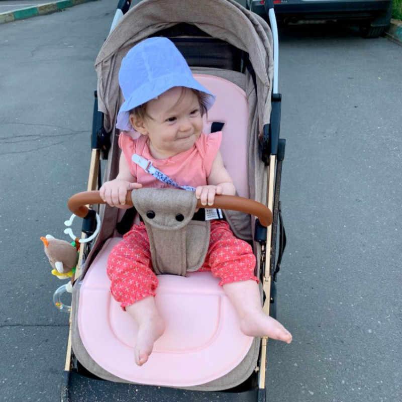 Kereta Dorong Bayi Bantal Kursi Anak Kursi Dorong Mobil Keranjang Kursi Tinggi Kursi Troli Lembut Kasur Bayi Stroller Bantal Pad Aksesoris