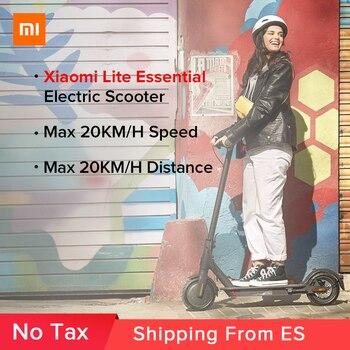 Xiaomi MIJIA-Scooter eléctrico Mi Lite esencial para adultos, patinete plegable, miniaerodeslizador, skateboard...