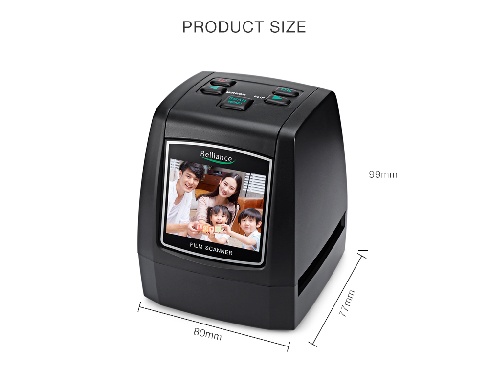 Confiança EC018 Scanner de Filme de 135mm