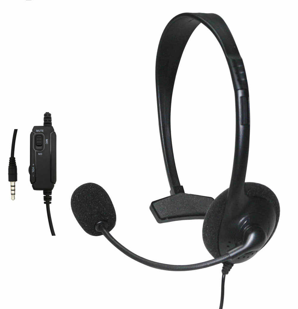 משחקי אוזניות אוזניות אוזניות w/מיקרופון עבור סוני פלייסטיישן 4 PS4 בקר עבור מחשב מחשב גיימר מחשב נייד PS4 חדש x-BOX
