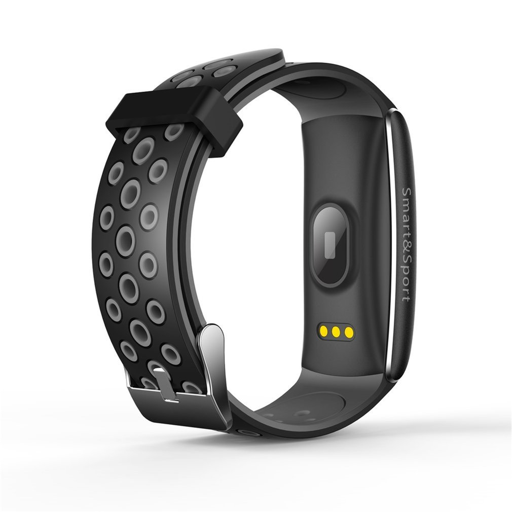Q8 OLED Smart Wristband Waterproof IP68 Bluetooth Sleep Heart Rate Monitor Smart Bracelet Sports Smartband APP For Android iOS image