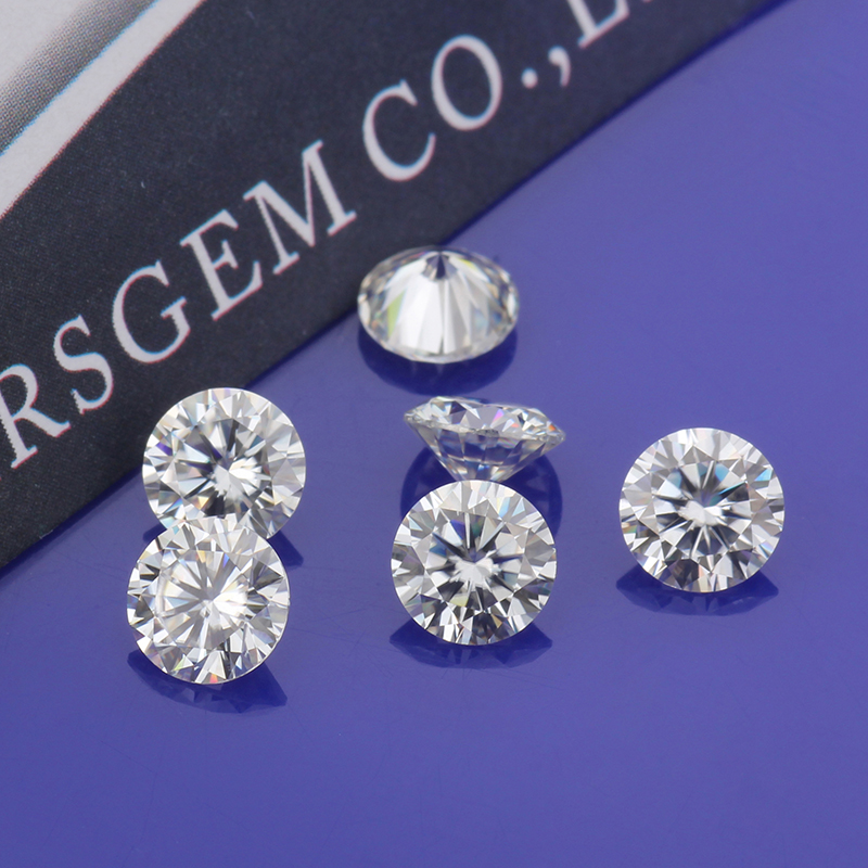 Cheestar Gems Loose Moissanites Stone EF Color 3mm Round Brilliant Cut 0.1ct Moissanites Synthetik Diamonds Stone