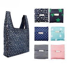 Grocery Shopping Bag Women Totes foldable Reusable Handbag Purse Suitcase Lightweight Laptop Ipad Packet Escolar Eco-Friendly(China)