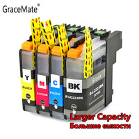 GraceMate LC223 Ink Cartridge Compatible for Brother DCP-J562DW DCP-J4120DW MFC-J480DW MFC-J680DW MFC-J880DW MFC-J4620DW Printer