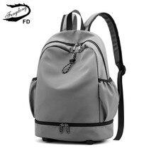 Fengdong okul çantaları genç erkekler için hafif seyahat spor sırt çantası su geçirmez okul çantası öğrenci bookbag laptop çantası