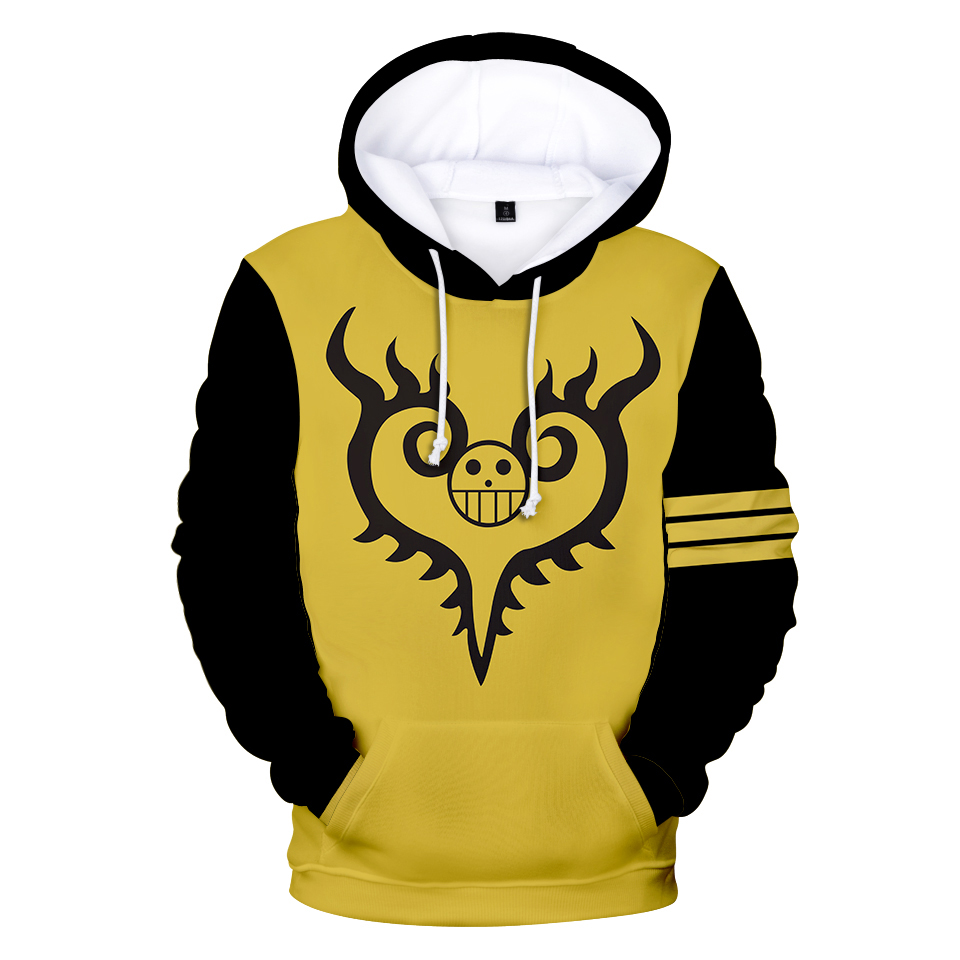 3D Printed Hoodies One Piece Hoodie Men Sweatshirt Women Harajuku Kids pullovers Casual Hot sale Anime black 3D Hoodies Clothes 5