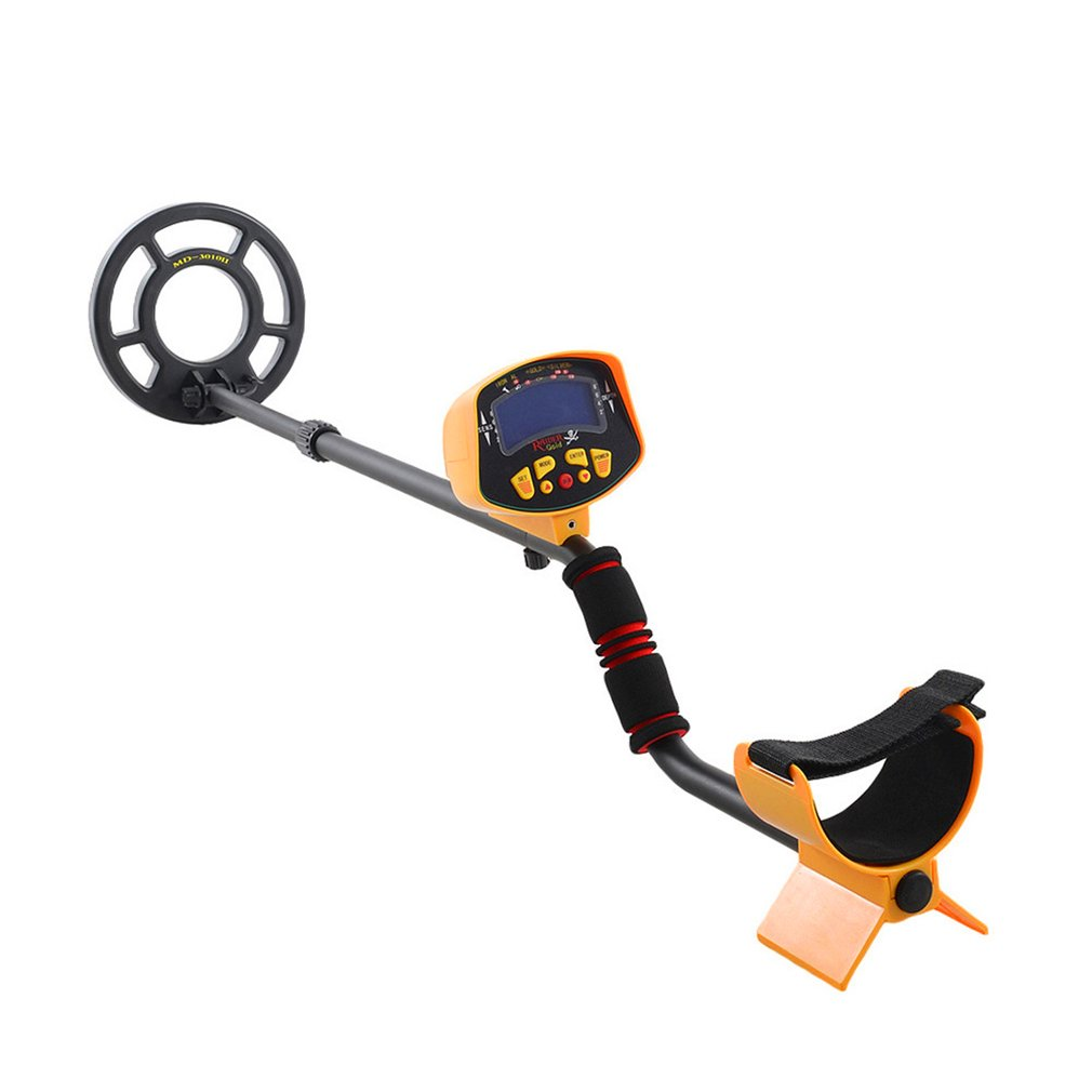 Professional Metal Detector Gold Search Scanner Finder Handheld LCD Display Digger Treasure Hunter Deep UnderGround <font><b>md3010</b></font> image