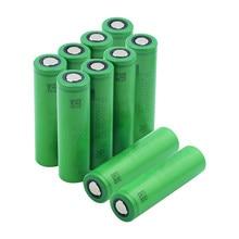 Peças 3.7 V Volt Recarregável US18650 10 VTC5 VTC5 2600mAh 18650 Da Bateria de Substituição 3.7 V 2600mAh 18650 Baterias