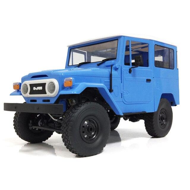 WPL C34KM RC Car 1:16 Metal Edition Kit 4WD 2.4Ghz  Radio Control Car Crawler Off Road Car 2CH Vehicle Models With Head Light 4