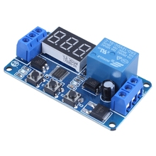 Automation DC 12V LED Display Digital Delay Timer Control Switch Relay Module