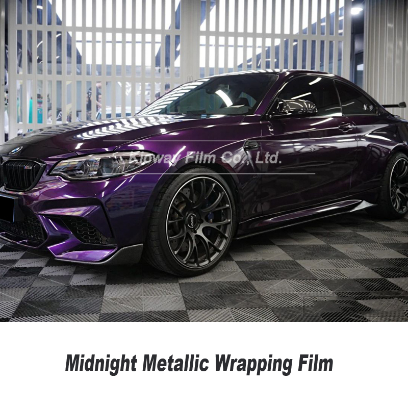 Newest Highest quality Midnight purple wrapping film Vinyl wrap Vehicle wrap Car Wrap bubble free quality Warranty popular color