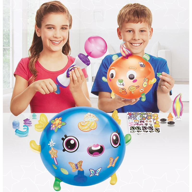 Magic Adhesive Oonies High Quality Children DIY Handmade Creative Sticky Ball Fun Bubble Inflator Creativity Toys Kit Dropshippi