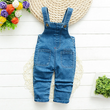 IENENS Girls Boys Denim Overalls Toddler Dungarees 1 2 3 4 Years Kids Baby Boy Jeans Jumpsuit Clothes Clothing Trousers Pants