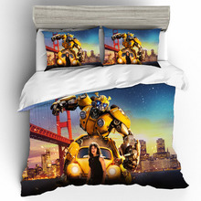 Home Textiles Bed Linen Set Bumblebee Quality 3D Luxury Couple Gift King Size Bedding duvets and linen sets Cotton