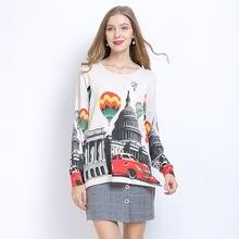 Зимний пуловер женские свитера оверсайз свободные вязаные платья