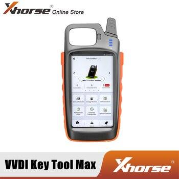 Xhorse VVDI KEY TOOL MAX Remote и чип-генератор с поддержкой Bluetooth и Wi-Fi, используется HD ЖК-экран с четким интерфейсом