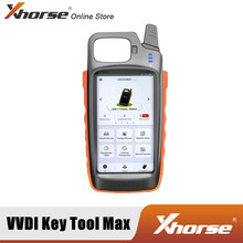 Xhorse VVDI KEY TOOL MAX Remote and Chip Generator Support Bluetooth and WIFI adopts HD LCD Screen with Clear Interface
