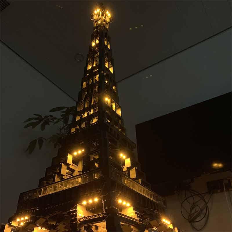 17002巴黎铁塔灯光图4