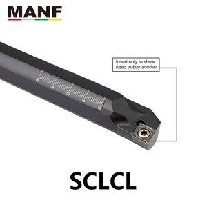 Image 5 - Manf ferramenta de torneamento sclcr S10K SCLCR06 torno interno chato barra ferramentas carboneto tungstênio para ccmt06 ccmt09 torneamento inserções
