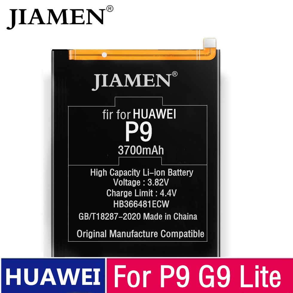 100% Orginal HB366481ECW עבור Huawei p9 /p9 לייט כבוד 8 p10 לייט y6 השני p8 לייט 2017 7A ליהנות p20 לייט כבוד 5C Ascend P9 סוללה