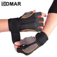 1Pair Half Finger Riding Gloves Anti-Slip Gel Bicycle Cycling Anti Slip For MTB Road Bike Glove Sports Accessories