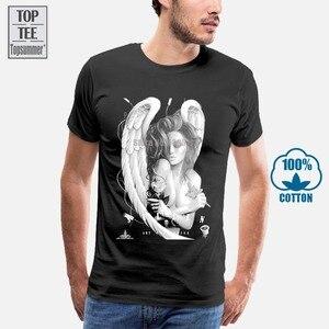Черная футболка Sullen Men'S Ink Angel