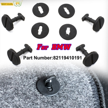 4Pcs Car Carpet Floor Mat Clips Twist With Washers For BMW E32 E36 E46 E38 E39 82119410191 Holders Fixing Grips Buckles Clamps image