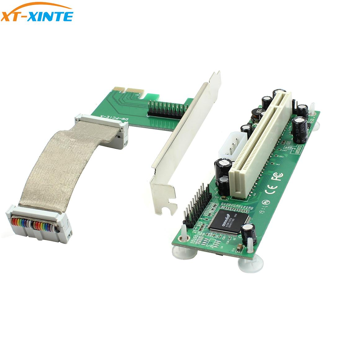XT-XINTE PCI-E PCI Express To PCI Adapter Flexible CablecCard Extender For Bitcoin Miner