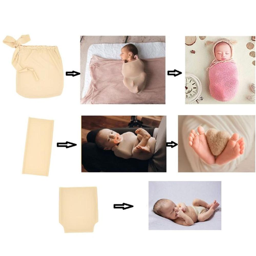 Skin Soft Wrapping Bag Wrapping Buddy Diaper Cover For Newborn Photography Handy Assistant Props Newborn Photo Shoot