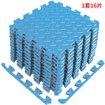 16 Pcs Foam Puzzle Mats Baby Mats with Fence Floor Tiles Kids Puzzle Mats Baby Crawling Mats Baby & Toddler Toys