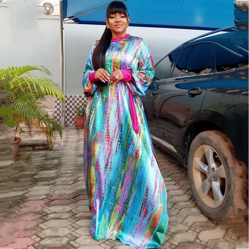 African Dresses For Women 2020 Dashiki Spring Summer Plus Size Long Maxi Dress Ladies Traditional African Clothing Fairy Dreams