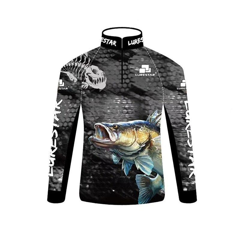 Professionele Vissen Kleding Lichtgewicht Zachte Zonnebrandcrème Kleding Anti-Uv Jersey Lange Mouw Shirts Buitenshuis Steltlopers Pesca T-shirt