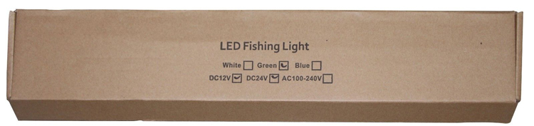 12 v lula luz de pesca mar
