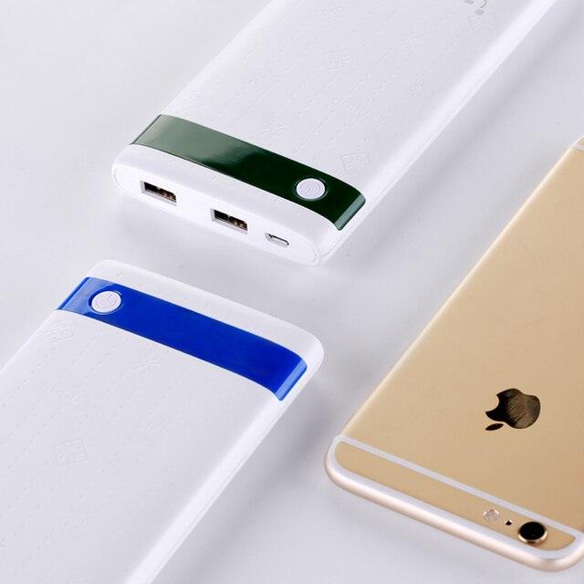 (100% Capacity) FERISING Ultra-thin Power Bank 10000mAh Dual USB External Pover Polymer China Battery Fast Charger Powerbank