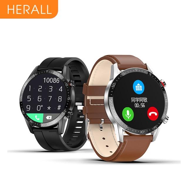 HERALL 2020 Smart Watch Bluetooth Call Smartwatch Men Women Waterproof Sport Fitness Bracelet For Android Apple Xiaomi Honor