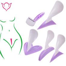 Женский бикини специальный шаблон для бритья Сексуальная Женская