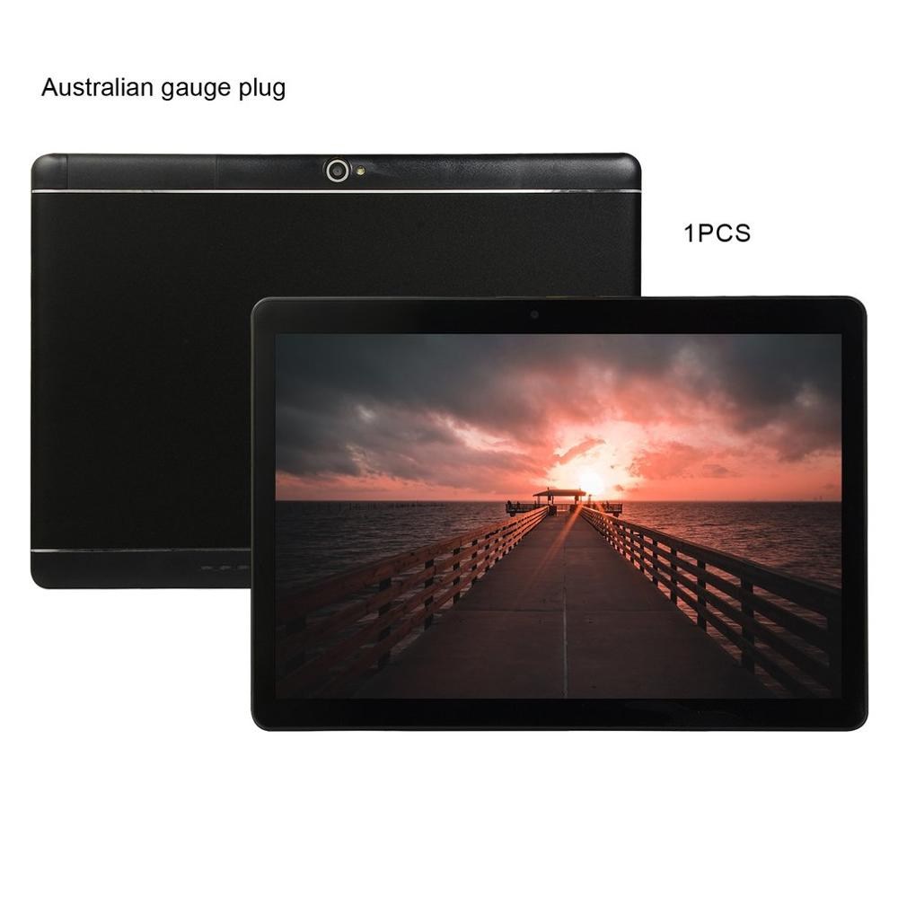 KT107 Plastic Tablet 10.1 Inch HD Large Screen Android 8.10 Version Fashion Portable Tablet 8G+64G Pink Tablet