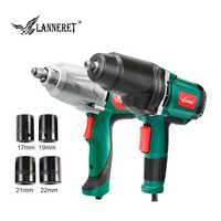 LANNERET clé à chocs couple Max 300-500Nm 1/2 pouce prise 450W/950W clé électrique changement pneu outil électrique