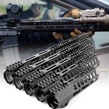 Picatinny-Rail Handguard AR15 M-LOK Float-Riflescope MK Free EWOLF 7-10-12-