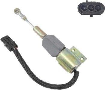 Diesel Engine Stop Solenoid 3939700 12V Fuel Shut Down Solenoid for SA-4891-12