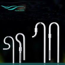 Chihiros fluxo de fluxo de fluxo de entrada de aço inoxidável lily jet pipe acessórios do filtro do tanque de peixes do aquário