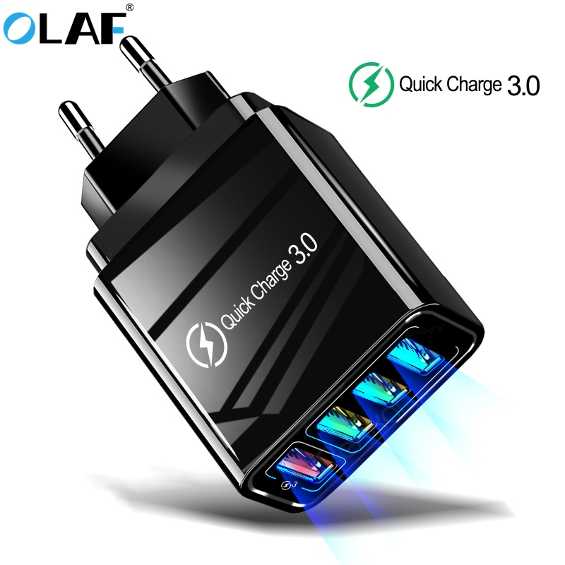EU/US Plug USB Charger Quick Charge 3.0 For Phone Adapter for Huawei iphone Tablet Portable Wall Mobile Charger Fast Charger