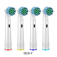4pcs/Lot Gum Care Replacement Toothbrush Heads For Oral B Braun Head Advance Power/Pro Health/3D Excel Brush