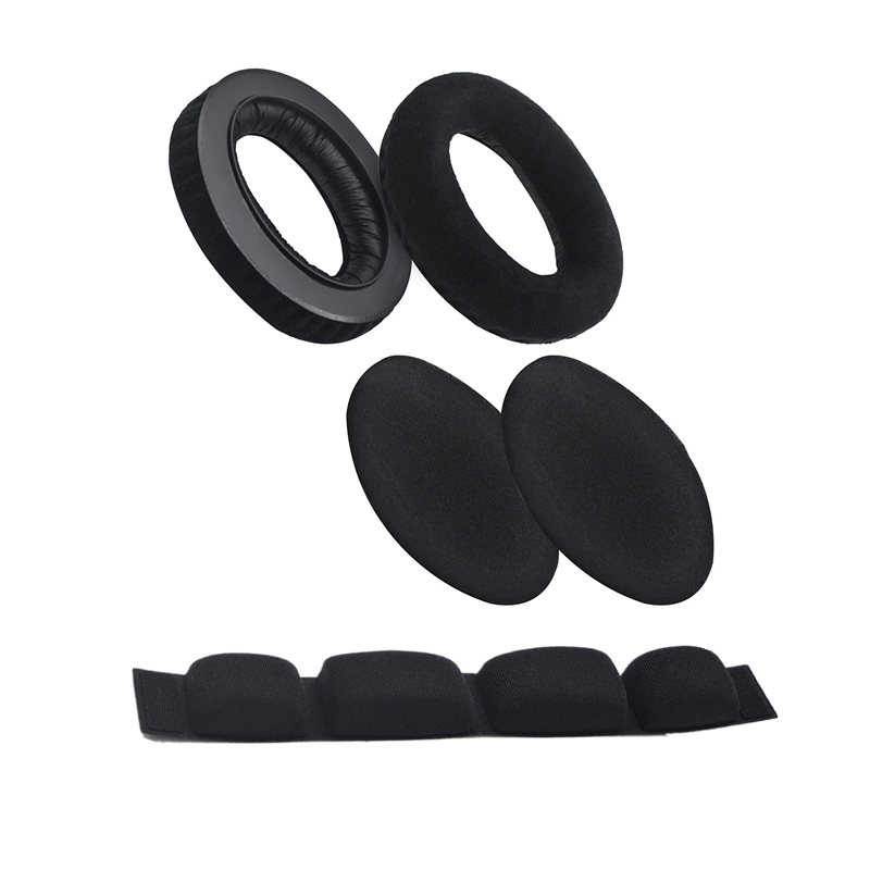 Soft Earpads Foam <font><b>Pads</b></font> Cushion with Headband Set For <font><b>Sennheiser</b></font> HD545 HD565 HD580 HD600 <font><b>HD650</b></font> Headphones Foam <font><b>Ear</b></font> Cup image