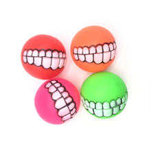 Забавные Домашние животные собака щенок кошка мяч зубы игрушка