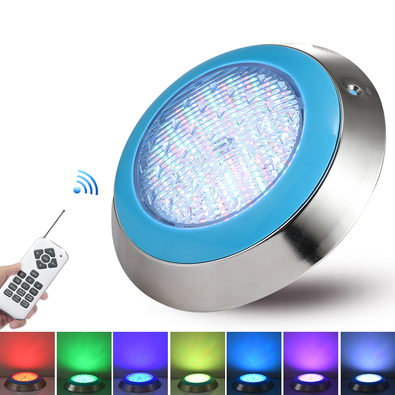Stainless Steel Ip68 Led Swimming Pool Light 35W 45W Blue Waterproof Lamps Underwater Lights AC12V RGB changeable Piscina Lampe