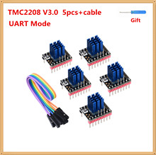 3d Printer Stepper Driver TMC2208 V3.0 Motor Controller Uart Modus Stepping Driver Module Tmc 2208 Implementeert Stepstick Onderdelen