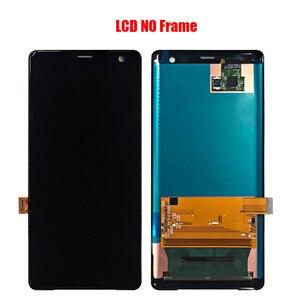 Image 2 - لسوني اريكسون XZ3 شاشة LCD الجمعية مع الجبهة حالة اللمس الزجاج ، لسوني اريكسون XZ3 H9436 H8416 H9493 شاشة LCD الأصلي